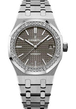 Load image into Gallery viewer, Audemars Piguet Royal Oak Selfwinding Watch-Grey Dial 37mm-15451ST.ZZ.1256ST.02 - Luxury Time NYC INC
