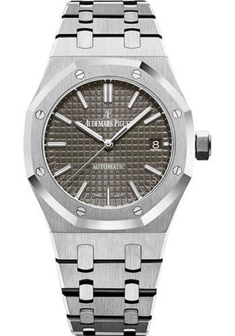 Audemars Piguet Royal Oak Selfwinding Watch-Rhodium Dial 37mm-15450ST.OO.1256ST.02 - Luxury Time NYC INC