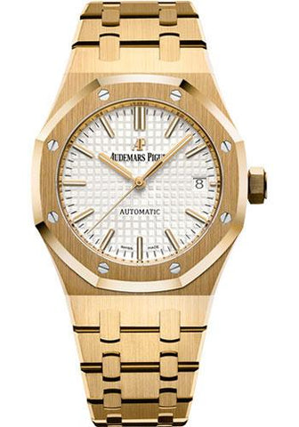 Audemars Piguet Royal Oak Selfwinding Watch-Silver Dial 37mm-15450BA.OO.1256BA.01 - Luxury Time NYC INC