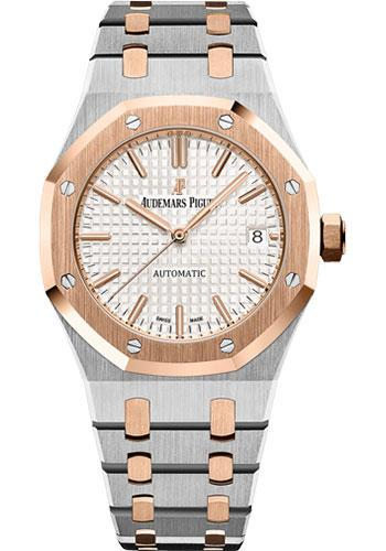 Audemars Piguet Royal Oak Selfwinding Watch-Silver Dial 37mm-15450SR.OO.1256SR.01 - Luxury Time NYC INC