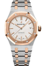 Load image into Gallery viewer, Audemars Piguet Royal Oak Selfwinding Watch-Silver Dial 37mm-15450SR.OO.1256SR.01 - Luxury Time NYC INC