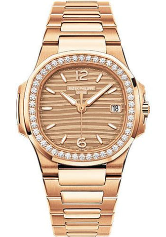 Patek Philippe 32mm Ladies Nautilus Watch C Dial 7010/1R - Luxury Time NYC INC