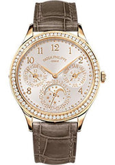 Patek Philippe 35.1mm Ladies Grand Complications Watch White Dial 7140R - Luxury Time NYC INC
