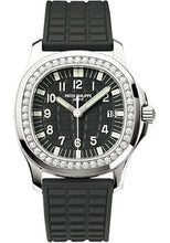 Load image into Gallery viewer, Patek Philippe 35.2mm Aquanaut Luce Watch Black Dial 5067A - Luxury Time NYC INC