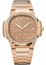 Load image into Gallery viewer, Patek Philippe 35.2mm Ladies Nautilus Watch Brown Dial 7118/1200R - Luxury Time NYC INC