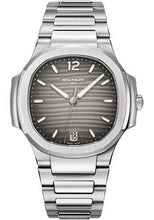 Load image into Gallery viewer, Patek Philippe 35.2mm Ladies Nautilus Watch Grey Dial 7118/1A - Luxury Time NYC INC