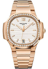 Load image into Gallery viewer, Patek Philippe 35.2mm Ladies Nautilus Watch Opaline Dial 7118/1200R - Luxury Time NYC INC