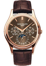 Load image into Gallery viewer, Patek Philippe 37.2mm Perpetual Calendar Moonphase Grand Complication Watch Brown Dial 5140R - Luxury Time NYC INC