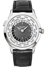 Load image into Gallery viewer, Patek Philippe 38.5mm World Time Complicated Watch Gray Dial 5230G - Luxury Time NYC INC