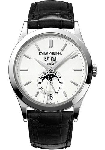 Patek Philippe 38mm Annual Calendar Complicated Watch Opaline Dial 5396G - Luxury Time NYC INC