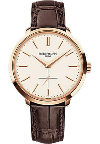 Patek Philippe 38mm Calatrava Watch Opaline Dial 5123R - Luxury Time NYC INC