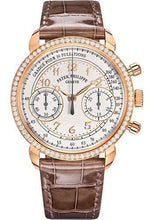 Load image into Gallery viewer, Patek Philippe 38mm Complications Chronograph - Rose Gold - Silvery Opaline Dial Opaline Dial 7150/250R - Luxury Time NYC INC