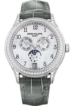 Load image into Gallery viewer, Patek Philippe 38mm Ladies Annual Calendar Complications Watch White Dial 4948G - Luxury Time NYC INC