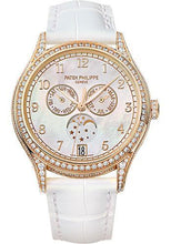 Load image into Gallery viewer, Patek Philippe 38mm Ladies Complications Annual Calender Watch White Dial 4948R - Luxury Time NYC INC