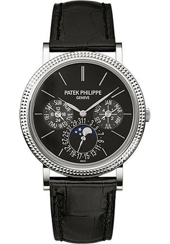 Patek Philippe 38mm Ladies Grand Complications Watch Black Dial 5139G - Luxury Time NYC INC