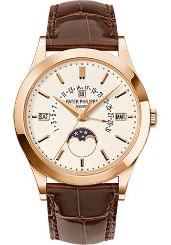 Patek Philippe 39.5mm Men Grand Complications Watch Brown Dial 5496R - Luxury Time NYC INC