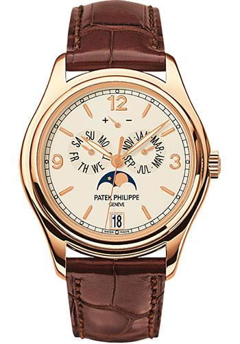 Patek Philippe 39mm Annual Calendar Compicated Watch Cream Dial 5146R - Luxury Time NYC INC