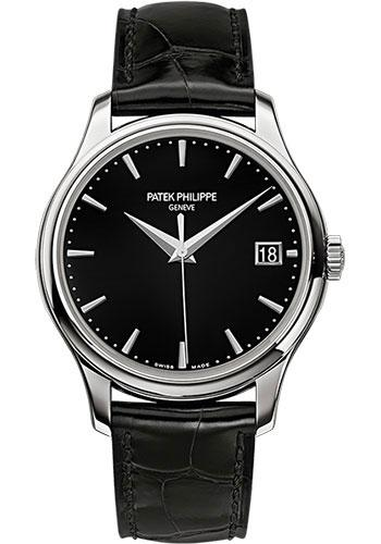 Patek Philippe 39mm Calatrava Watch Black Dial 5227G - Luxury Time NYC INC