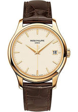 Load image into Gallery viewer, Patek Philippe 39mm Calatrava Watch Ivory Dial 5227J - Luxury Time NYC INC