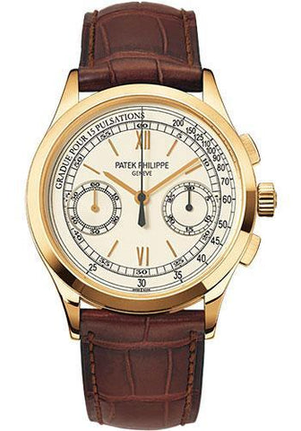 Patek Philippe 39mm Chronograph Compliated Watch Opaline Dial 5170J - Luxury Time NYC INC