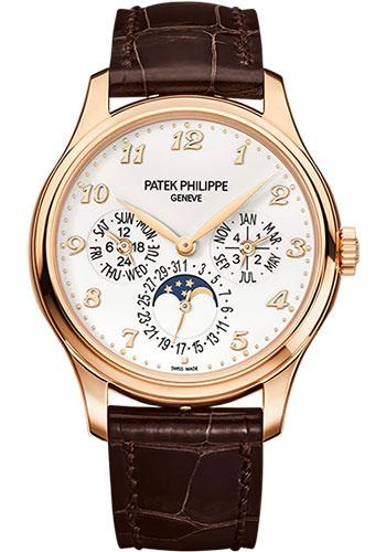 Patek Philippe 39mm Men Grand Complications Perpetual Calender Moonphase Watch Ivory Dial 5327R - Luxury Time NYC INC