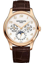 Load image into Gallery viewer, Patek Philippe 39mm Men Grand Complications Perpetual Calender Moonphase Watch Ivory Dial 5327R - Luxury Time NYC INC