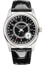 Load image into Gallery viewer, Patek Philippe 39mm Mens Calatrava Watch Black Dial 6006G - Luxury Time NYC INC