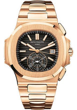 Load image into Gallery viewer, Patek Philippe 40.5mm Men Nautilus Watch Black Dial 5980/1R - Luxury Time NYC INC