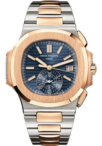 Patek Philippe 40.5mm Men Nautilus Watch Blue Dial 5980/1AR - Luxury Time NYC INC
