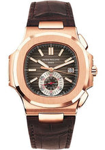 Load image into Gallery viewer, Patek Philippe 40.5mm Nautilus Watch Black Dial 5980R - Luxury Time NYC INC