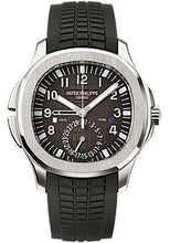Load image into Gallery viewer, Patek Philippe 40.8mm Mens Aquanaut Dual Time Watch Black Dial 5164A - Luxury Time NYC INC