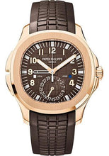 Load image into Gallery viewer, Patek Philippe 40.8mm Mens Aquanaut Travel Time Watch Brown Dial 5164R - Luxury Time NYC INC
