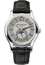 Load image into Gallery viewer, Patek Philippe 40mm Annual Calendar Compicated Watch Rhodium Dial 5205G - Luxury Time NYC INC