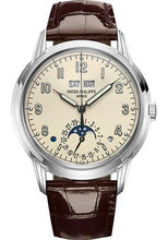 Load image into Gallery viewer, Patek Philippe 40mm Grand Complications Perpetual Calendar - White Gold - Lacquered Cream Dial C Dial 5320G - Luxury Time NYC INC