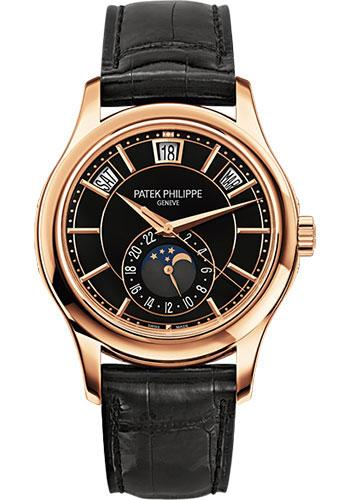 Patek Philippe 40mm Men Complications Watch Black Dial 5205R - Luxury Time NYC INC
