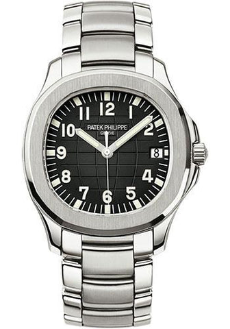 Patek Philippe 40mm Men's Aquanaut Watch Black Dial 5167/1A - Luxury Time NYC INC