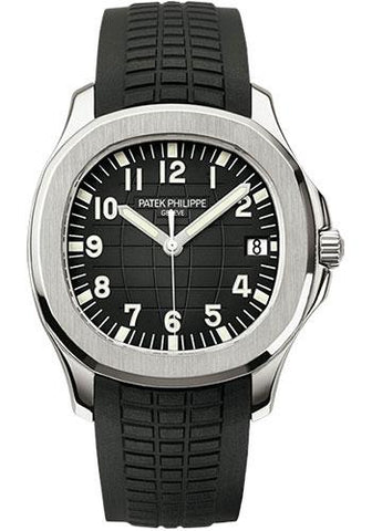 Patek Philippe 40mm Men's Aquanaut Watch Black Dial 5167A - Luxury Time NYC INC