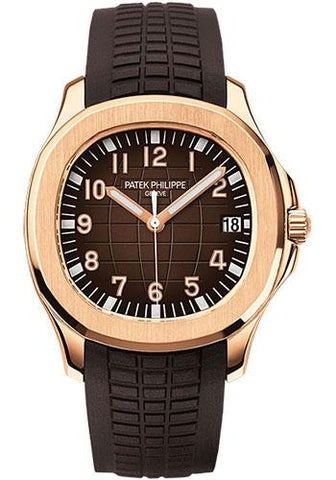Patek Philippe 40mm Men's Aquanaut Watch Chocolate Dial 5167R - Luxury Time NYC INC