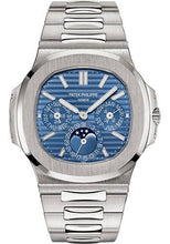 Load image into Gallery viewer, Patek Philippe 40mm Nautilus Grand Complication Perpetual Calendar Watch Blue Dial 5740/1G - Luxury Time NYC INC