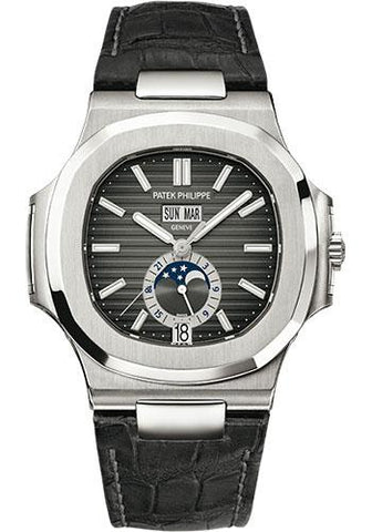 Patek Philippe 40mm Nautilus Watch Black Dial 5726A - Luxury Time NYC INC