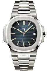 Patek Philippe 40mm Nautilus Watch Blue Dial 5711/1A - Luxury Time NYC INC