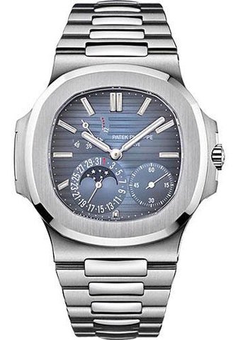 Patek Philippe 40mm Nautilus Watch Blue Dial 5712/1A - Luxury Time NYC INC