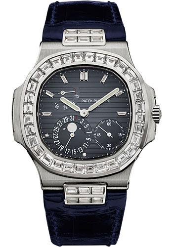 Patek Philippe 40mm Nautilus Watch Blue Dial 5724G - Luxury Time NYC INC