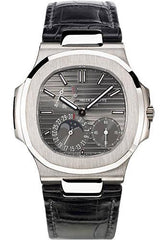 Patek Philippe 40mm Nautilus Watch Grey Dial 5712G - Luxury Time NYC INC