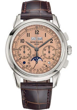 Load image into Gallery viewer, Patek Philippe 41mm Grand Complications Chronograph Perpetual Calendar - Platinum - Golden Opaline Dial Opaline Dial 5270P - Luxury Time NYC INC