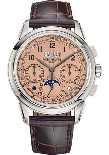 Patek Philippe 41mm Grand Complications Chronograph Perpetual Calendar - Platinum - Golden Opaline Dial Opaline Dial 5270P - Luxury Time NYC INC