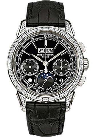 Patek Philippe 41mm Men Grand Complications Perpetual Calender Chronogragh Watch Black Dial 5271P - Luxury Time NYC INC