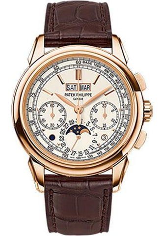 Patek Philippe 41mm Men Grand Complications Perpetual Calender Chronogragh Watch Silver Dial 5270R - Luxury Time NYC INC
