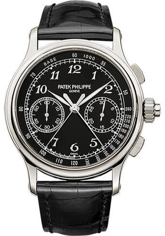 Patek Philippe 41mm Split-Seconds Chronograph Grand Complications Watch C Dial 5370P - Luxury Time NYC INC
