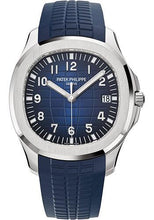 Load image into Gallery viewer, Patek Philippe 42.2mm Men's Aquanaut Watch Blue Dial 5168G - Luxury Time NYC INC
